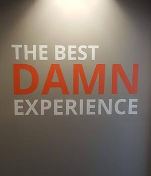 the best damn experience